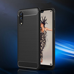 Discount huawei new phones - 2018 New Luxury Phone Case For Huawei P20 P20 Pro P20 Lite TPU Cellphone Case Protective Back Cover Multicolor With OPP