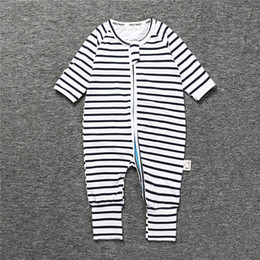 Jumpsuit Babies NZ - 2018 Spring print zebra Coverall Autumn Baby Cotton Long Sleeve Coveralls o-neck Baby romper children's clothes pajamas baby jumpsuits