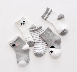 Boys Toddlers Socks NZ - free shipping high quality 2018 new wholesale hot sale 1Pairs Cotton Striped Baby Socks Newborn Baby Boys Girls Sock Cute Toddler Kid Socks