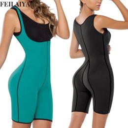 c349fb647 women sexy full body underwear 2019 - Neoprene Full Body Shaper Waist  Trainer Sexy Women Bodysuit