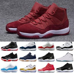 2f400e7e8ee 11 Basketball Shoes Mens Women 11s XI Gym Red Mike Like 96 Bred Space Jam  Heiress Velvet Chicago Concord Trainer Sport Shoe Sneakers