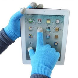 Discount bamboo one size - Magic Touch Screen Gloves Smartphone Texting Stretch Adult One Size Winter Knit Gloves