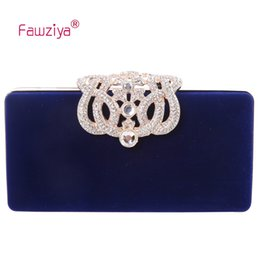 $enCountryForm.capitalKeyWord NZ - Fawziya Formal Clutches Crown Velvet Clutch Purse Women Clutch Evening Bags