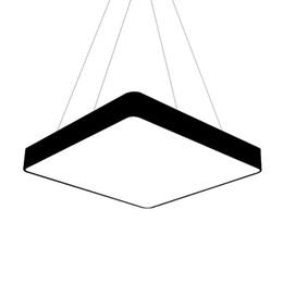 $enCountryForm.capitalKeyWord UK - Square Suspension Hanging Pendant Lamp Square led lamp AC90-260v 60CM 80CM 90CM 100CM 120CM for Clothing store show