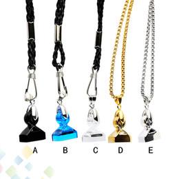Vente en gros Lanière de tueur de démon authentique pour COCO J avec des pointes d'aimant fort, collier, support, métal, cuir, matériel, chaîne, emballage, détail, emballage, DHL, gratuit