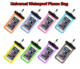 Underwater case for cellphones online shopping - Waterproof Phone Case Universal Underwater PVC Protective Cellphone Dry Bag Pouch for iPhone XR XS X Plus Samsung Note S8 S8 Xiaomi