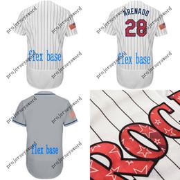 a132722c9 2018 Stars & Stripes Colorado Jersey Mens 5 Carlos Gonzalez 19 Charlie  Blackmon 27 Trevor Story Ian Desmond Nolan Arenado Baseball Jerseys
