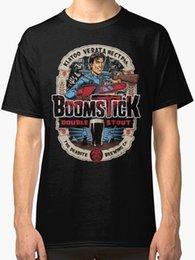 Venta al por mayor de Ash Vs Evil Dead Series Camiseta para hombre Camiseta de moda Hombre Ropa Marca Ropa Verano 2018 Nuevo 2018 Divertido