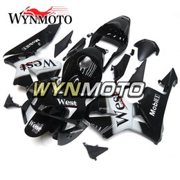 Honda F5 Canada - Motorcycle Black Bodywork ABS Injection Bodywork For Honda CBR600RR F5 Year 2003-2004 03-04 Complete Fairing Kit Body Kit