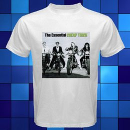 $enCountryForm.capitalKeyWord Australia - New The Essential Cheap Trick Album Cover White T Shirt Size S M L Xl 2xl 3xl Men's High Quality Custom Printed Tops Hipster