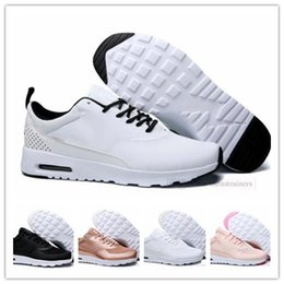 best cheap 4400c 1a50b nike air max Original Hommes Femmes Thea 87 Sport Trainers Mode Hommes  Designer Sneakers Chaussures 90 Chaussures De Course Presto Taille 36-45