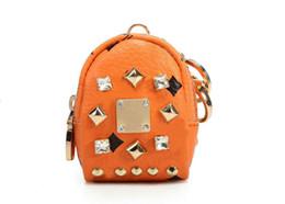 Nueva versión de Corea del Sur de impresiones de animales lindos pequeño monedero cero colgar una mochila coreana keychain01