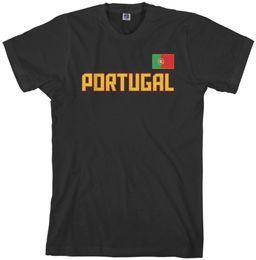 $enCountryForm.capitalKeyWord UK - 2018 Promotion Limited Fashion O-neck Broadcloth Cotton Print Tee4u Design T Shirt Portugal Flag Short-sleeve Mens Tee Shirts
