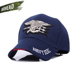 Navy seal caps online shopping - U S Navy SEAL Tactical Baseball Sport Caps Adjustable Outdoor Sun Hat Personality Men s Caps Color