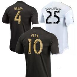 535eef82049 Thailand quality 2018 2019 Carlos Vela Los Angeles FC Soccer Jerseys Club 18  19 Black LAFC GABER ROSSI CIMAN ZIMMERMAN Football shirts LA