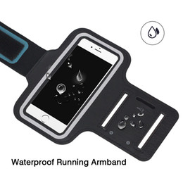Discount max green - Waterproof Sports Armband Phone Case for iPhone 8 7 Plus X XS Max XR Case Phone Case Cover Holder Armband