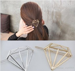 Hair Feathers Tools Australia - Women Gold Silver Cat Diamond Feather Hair Clip Hairpin Barrette Bobby Pin Hair Styling Tools Ornament Accessories