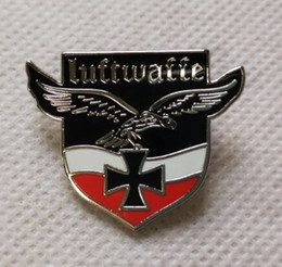 EmpirE pin online shopping - Germany Iron Cross Medal World War II German Empire Eagle Emblem With Safety Pin Arm Badge Souvenir Medal