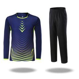 Neue 2018 Herbst Winter Badminton tragen Anzüge Männer Frauen Paare Tennis T Shirt langärmelige Hosen atmungsaktiv dünne dünne Tennis Kleidung M-4XL