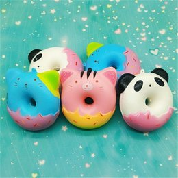 $enCountryForm.capitalKeyWord Australia - Lovely Squishy Animal Bread Squishies Decompression Toys Phone Straps Pendant Children Play House Toy Gift Many Styles 12 9hb CR