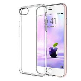 $enCountryForm.capitalKeyWord UK - For iPhone 8 Premium Case Slim Crystal Clear Transparent Soft TPU Cover Silicon Case Mobile Phone Skin Shell Bag