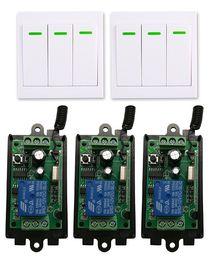 Discount remote control 9v - DC 9V 12V 24V 1 CH 1CH RF Wireless Remote Control Switch System Receiver+3CH 86 Wall Panel Transmitter,315 433.92 MHZ sh