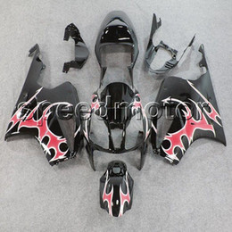 sp1 rc51 fairing Canada - colors+Gifts pink flames VTR1000 2000 2001 2002 2003 2004 2005 2006 motorcycle Fairing for HONDA VTR SP1 RC51 00 01 02 03 04 05 06