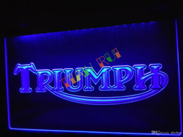 Chinese  LG051-b Triumph Motorcycles Services Repairs Neon Sign home decor shop crafts led sign manufacturers