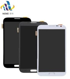 samsung note screen digitizer 2019 - Black White Grey For Samsung Galaxy Note 2 N7100 N7105 T889 i317 i605 L900 LCD Display Touch Screen Digitizer Assembly P