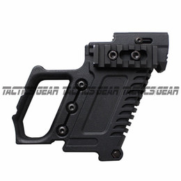 Wholesale Caricatore in nylon per caricatore Tactical Pistol Stock Adapter Glo ck Edition per G17 G18 G19 Grip