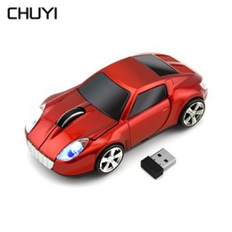 a89622f3756 CHUYI Car Shaped Wireless Mouse 2.4Ghz USB Computer Optical Gaming Mause  1600 DPI Ergonomic 3D Mini Mice For PC Laptop Desktop
