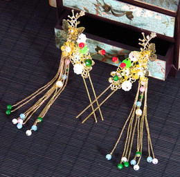 $enCountryForm.capitalKeyWord Australia - Brides, Chinese style clothing, hair ornaments, hairpins, forks, steps, headgear, golden wedding gowns, ornaments and accessories.