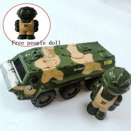 $enCountryForm.capitalKeyWord Australia - 1:52 Zinc alloy car model , high simulation military toy,metal castings,strong pull back force vehicle,free gift doll