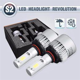 2019 Latest Design Leewa 2pcs All In One Car Led Headlight H1 H3 H4 H7 H8 H9 H11 9005 9006 880 881 9012 2-cob 72w Auto Led Bulb Foglight Headlamp Automobiles & Motorcycles Car Headlight Bulbs(led)