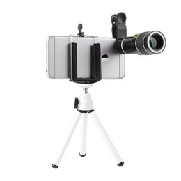 Wholesale Cell Phone Camera Lens x Telephoto lens Zoom focus phone lens Fisheye Lens Phone Camera Lens Tripod