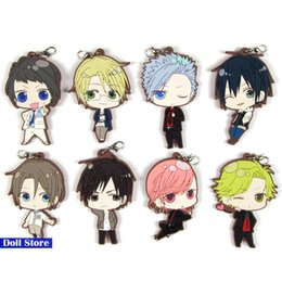 Discount japanese phones - TSUKIPRO Original Japanese anime figure rubber mobile phone charms keychain strap D214