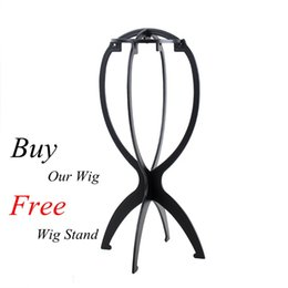 Plastic wig caP online shopping - Dream Remy Queen Plastic Wig Stand Stable Durable Hair Support Display Wigs Hat Cap Holder Tool