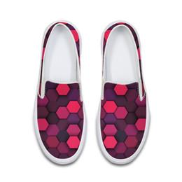 5cdc4efb3b Holográfica Gingham Sapatas de Lona Das Mulheres Solf Jardim Trabalho Flats  Sola De Borracha Senhoras Mãe Loafer Preguiçoso Feminino Casual Sneakers  Calçado