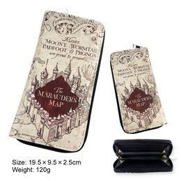 China Harry Potter Letter Zip Around Wallet pu Long Fashion men Women Wallets Designer Brand Purse Lady Party Wallet Female Card Holder supplier harry potter note suppliers