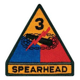 $enCountryForm.capitalKeyWord Australia - 3rd Armored Division Patch Embroidered Motorcycle Applique Badge Embroidery Patch Biker Punk Parch on Clothing for Jacket Backpack