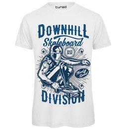 Camisa Divertente Uomo Maglietta Con Stampa Ironica Downhill Skate Sintonizado Impresso Camiseta Homens Top Tee Verão venda por atacado