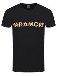 Опт Paramore цвет Swatch мужская черная футболка