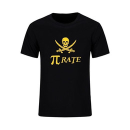 $enCountryForm.capitalKeyWord NZ - Men's fashion Pi Print T Math Shirts Swag Cool Skull Cotton Sporting Suits Camisa Masculina High Quality Tops Tee Boutique T-shirt Cart