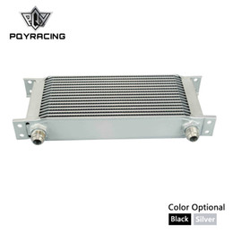 Discount 16 engine - PQY - 16 ROW AN-10AN UNIVERSAL OIL COOLER ENGINE TRANSMISSION OIL COOLER KIT PQY7016
