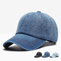 175c25804de Woman hat denim online shopping - Men Women Snapback Caps Outdoor Autumn  Winter Denim Baseball Cap