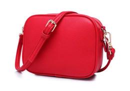 $enCountryForm.capitalKeyWord UK - 50pcs 2018 New Brand Women Plain Fashion PU Flap Shoulder Bag Ladies Cosmeitic Bag Top Zipper Cross body Bag 6colors Best gift for wedding
