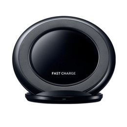 SamSung galaxy logo online shopping - Fast Wireless Charger charging Pad Stand Dock for Samsung Galaxy Note S8 S9 iphone X Plus without Logo