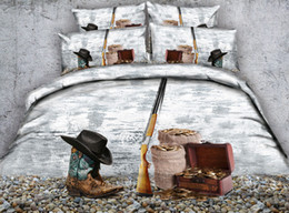 $enCountryForm.capitalKeyWord NZ - 3D cowboy bedding sets duvet cover scenery bedspreads cool comforter cover Bed Linen Quilt Covers bed cover pillow shams for adults boys men