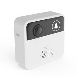 Video ring online shopping - WiFi Video Doorbell Camera Door Bell Ring Alarm Chime Door Phone Intercom Audio Free APP Control iOS Android