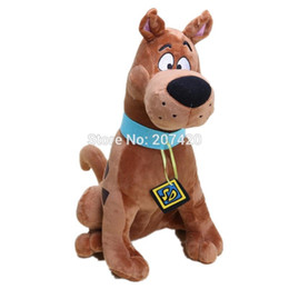 scooby toy 2019 - 13'' 35cm Cute Scooby Doo Dog Soft Stuffed Plush Toy Dolls Gift For Kids